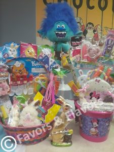 Favors & Flavors Custom Easter Chocolate Gift Baskets in Philadelphia