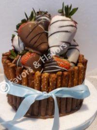 Favors & Flavors Custom Chocolate Fruit Gift Baskets Philadelphia